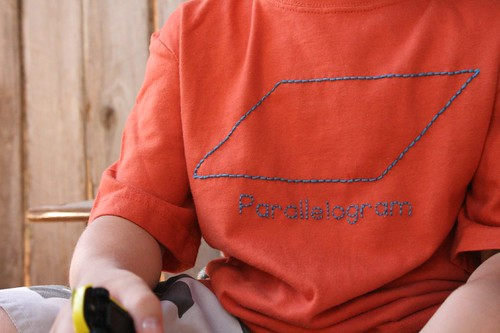 parallelogram t-shirt