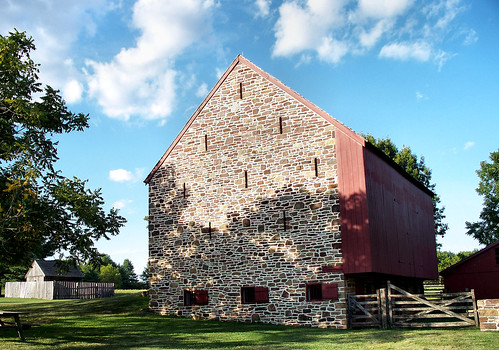 The Barn [Peter Wentz Farmstead] by katiemetz on Flickr