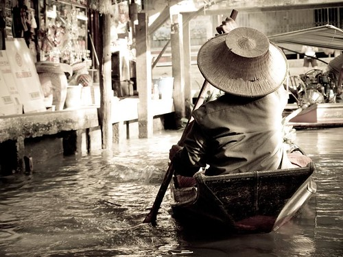 In Floating Market