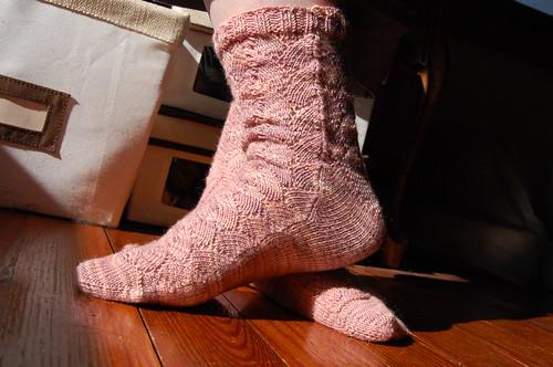 Shellac Socks, take two