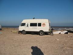 Moulay staanplaats (HarmvVugt) Tags: trip camper trippin marokko lt windsurf moulay lt35