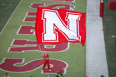 Huskers - Waiving Flag -  TOUCHDOWN!!