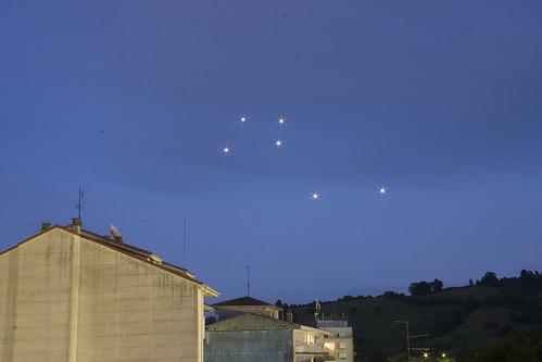 UFO Proof: Six Orbs