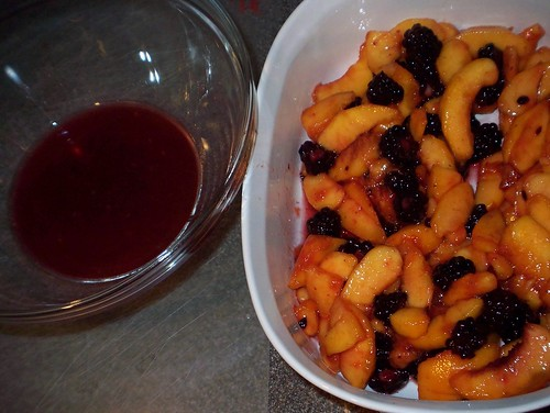 peach blackberry syrup
