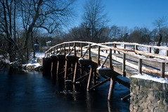 North Bridge, Concord River, Concord, MA (1977) by The Douglas Campbell Show