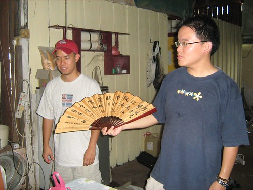 Reunited with my old Chinese fan