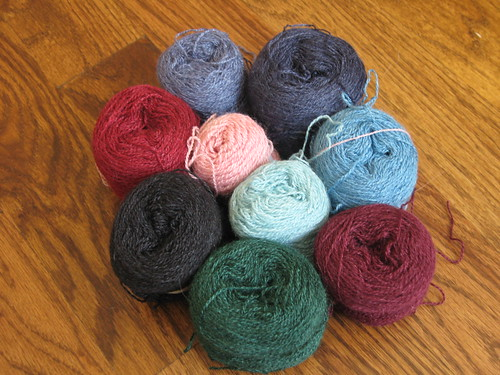 wrap yarns