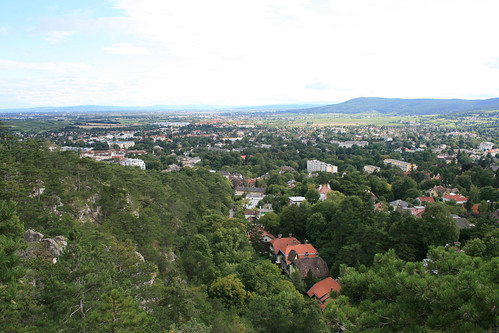 View from the Vienna Woods near Baden