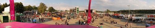 Megapanorama Highfield Festivalgelände 2008