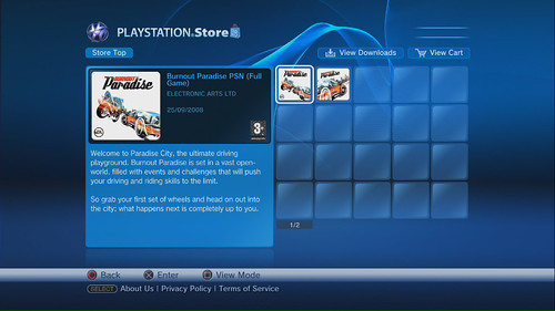 Burnout Paradise on PlayStation Store 01