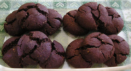 Biscotti cacao e nocciole - Cocoa and hazelnut cookies