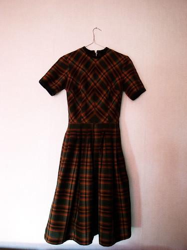 винтажные платья 50-х годов.