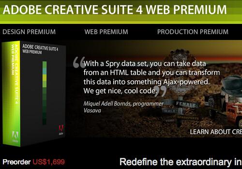 cs4 web premium