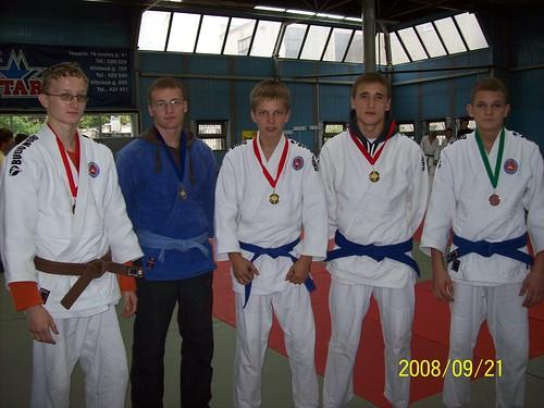 Iš kairės A.Tipšas, D.Zimkus, D.Kasteckas, T.Vaitkevičius ir R.Diburys