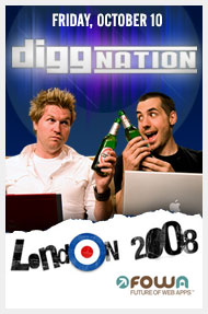 Diggnation London