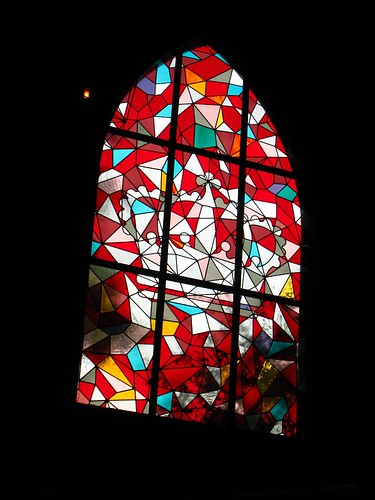 Stained Glass Window in White Rabbit