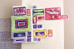 0080827003 diaries (PED74) Tags: moleskine collage paper sketchbook papel recycle reciclaje cuaderno japanesealbum moleskineexchange