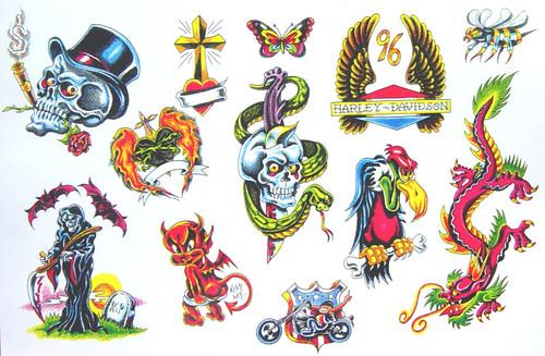 Tattoo fantasy 39 s most interesting flickr photos picssr - Dessin new school ...