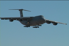 LOCKHEED C-5 GALAXY (dvonraesfeld) Tags: show video aviation air landing galaxy lockheed c5 travisafb