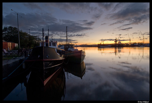 Göteborg riverside quay