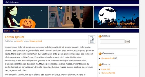 theme-wordpress-halloween-cafe