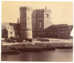 Fort Macquarie ca.1870 from Sydney Streets and Buildings, 1861-ca.1900 / chiefly by Kerry & Co.