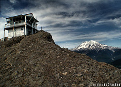 (Amanda Takes Pictures) Tags: cliff mountain amanda rock high view scenic lookout mountrainier rainier firehouse mtrainier firelookout mccracken longwaydown inspiks|inspirationalpictures highrocklookout amandamccracken amandamccrackenphotography