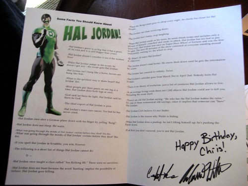 Facts about Hal Jordan