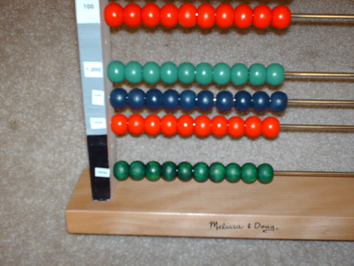 montessori large bead frame