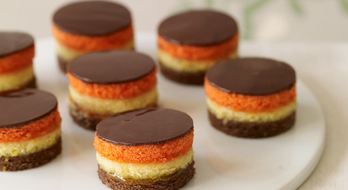 Baked Tricolor Cookies