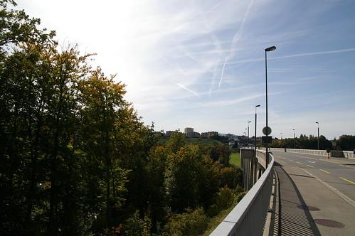 到Fribourg附近的橋