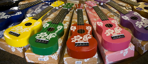 Souvinier Ukeleles from the Hawaiian Ukelele Company