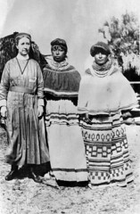 Deaconess Bedell with Mary Osceola Huff and Fanny Stuart (State Library and Archives of Florida) Tags: florida seminoles nativeamerican miccosukee womensday deaconessbedell statelibraryandarchivesofflorida harrietmbedell
