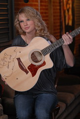 Taylor Swift signed guitar at Body By Milk (Body By Milk) Tags: milk contest gotmilk taylorswift bodybymilk