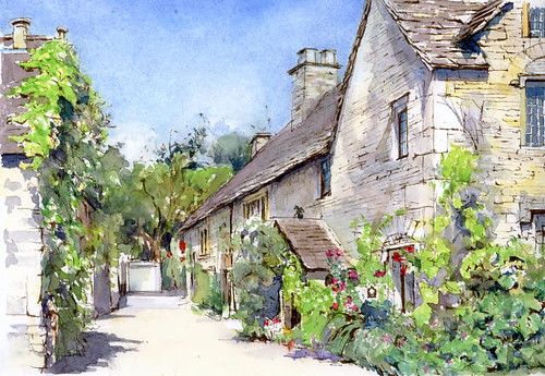 The Manor House  (Castle Combe COTSWOLDS U.K.) マナーハウス(キャッスルクーム) by Yuzo Komori