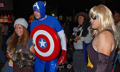 Captain America and Mz. Marvel