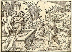 actaeon in cervum