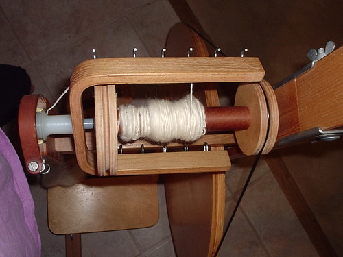 The first of my spinning on the <span class=