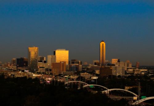Dawn Skyline, Houston