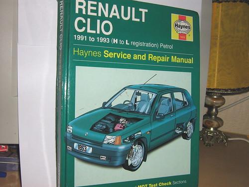 haynes repair manual clio