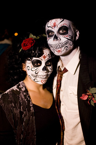 day of the dead makeup couple - photo #2