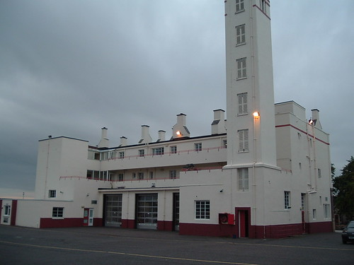 Kirkcaldy Fire Station rear