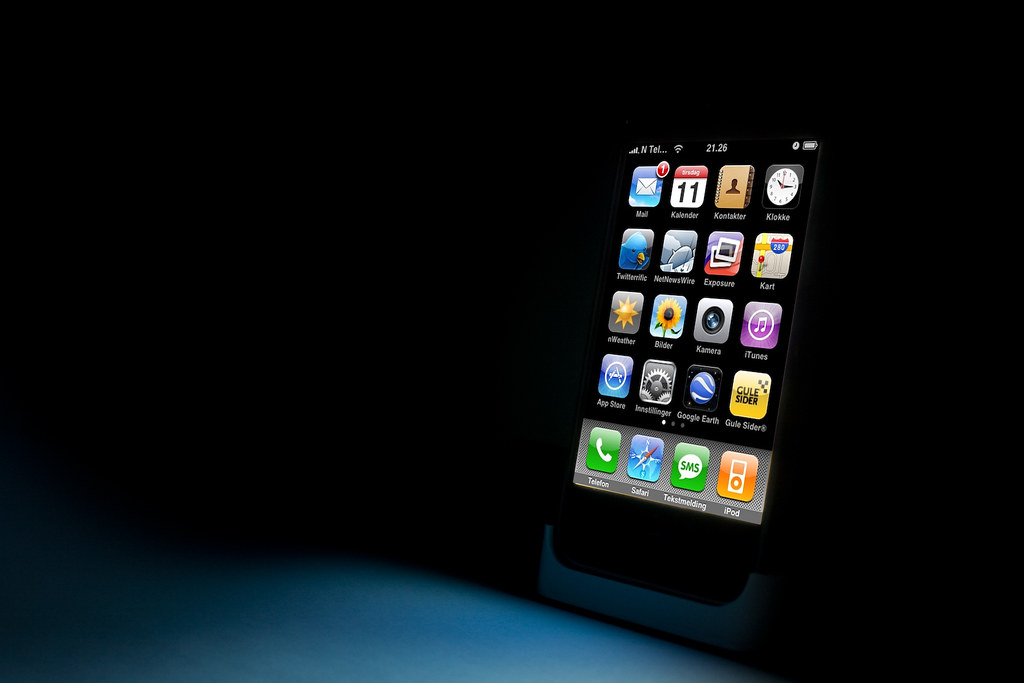 iPhone in the Dark