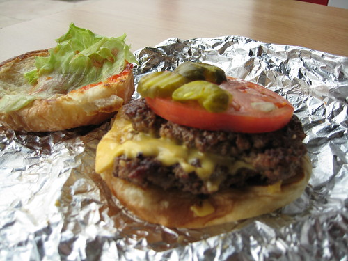 Bacon Cheeseburger at Five Guys