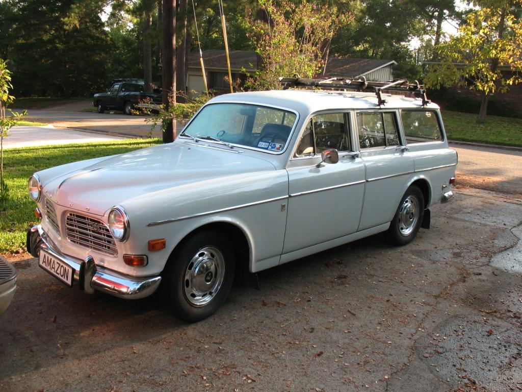 It's a 1968 Volvo Amazon Wagon
