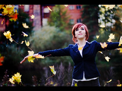 20081107-40D-2666 Nat in the Autumn (orangeacid) Tags: autumn playing mill girl leaves yellow portraits fun pretty nat natalie derby barratt natalion mobformat09filmstill