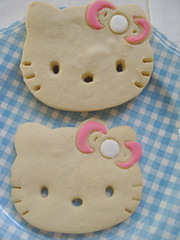 Hello Kitty Sugar Cookies (bunbunlife) Tags: hello cookies kitty sugar sanrio