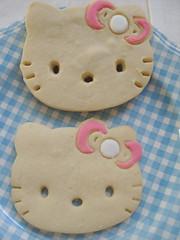 Hello Kitty Sugar Cookies (bunbunlife) Tags: hello cookies kitty sugar sanrio