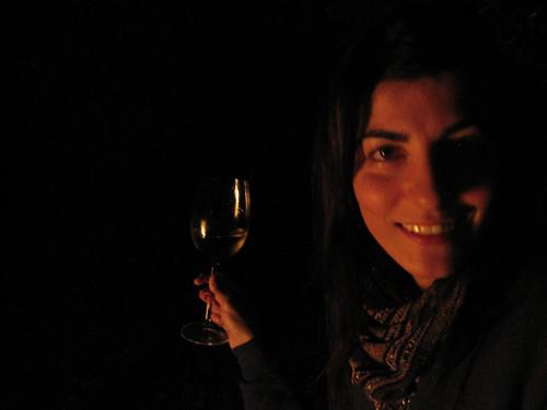 bonfire - Leah as romance novel writer