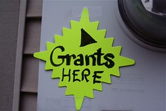 Grants Here Sign 11-19-08 [Photo by stevendepolo] (CC BY-SA 3.0)